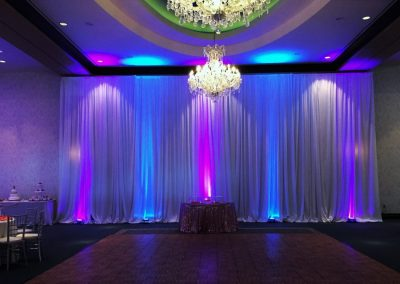 Drape and Lights